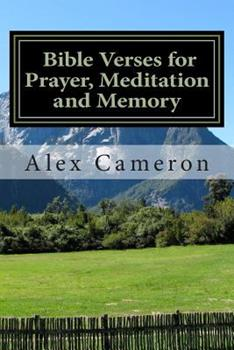 Paperback Bible Verses for Prayer, Meditation and Memory [Large Print] Book