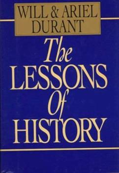 The Lessons of History 143914995X Book Cover