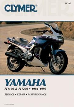 Paperback Yamaha Fj1100 & Fj1200 84-93 Book
