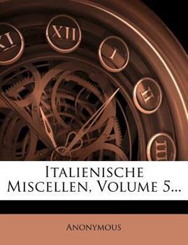 Paperback Italienische Miscellen Book
