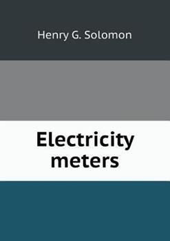 Paperback Electricity Meters Book