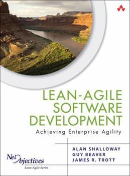Paperback Lean-Agile Software Development: Achieving Enterprise Agility Book