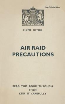 Hardcover Air Raid Precautions Book