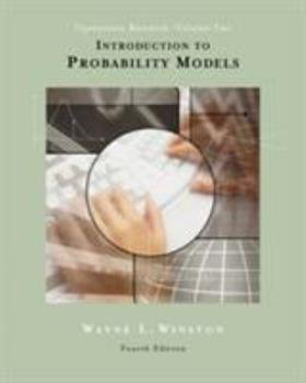 Introduction to Probability Models : Operations Research, Volume II (with CD-ROM and In 053440572X Book Cover