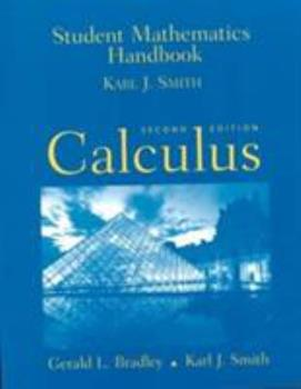 Student Math Handbook: Calculus 0130819549 Book Cover