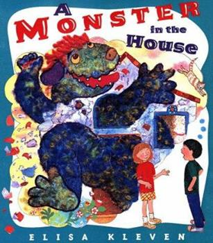 Hardcover A Monster in the House Book