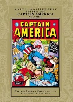Marvel Masterworks: Golden Age Captain America, Vol. 6 - Book #189 of the Marvel Masterworks