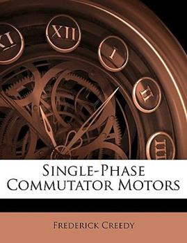 Paperback Single-Phase Commutator Motors Book