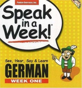Spiral-bound Speak in a Week German: Week One (German and English Edition) Book