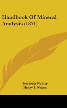 Hardcover Handbook of Mineral Analysis Book