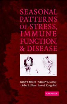 Hardcover Seasonal Patterns of Stress, Immune Function, and Disease Book
