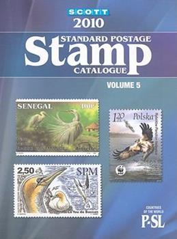Scott Standard Postage Stamp Catalogue, Volume 5: Countries of the World, P-SL 0894873997 Book Cover