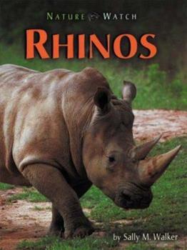 Library Binding Rhinos (Nature Watch) Book