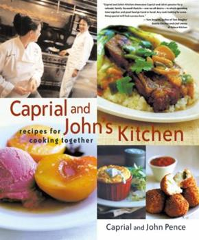 Hardcover Caprial and John's Kitchen Book