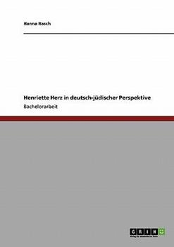 Paperback Henriette Herz in deutsch-j?discher Perspektive [German] Book