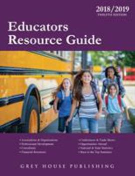 Paperback Educators Resource Guide, 2018/19: Print Purchase Includes 1 Year Free Online Access Book