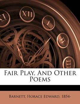 Paperback Fair Play, and Other Poems Book