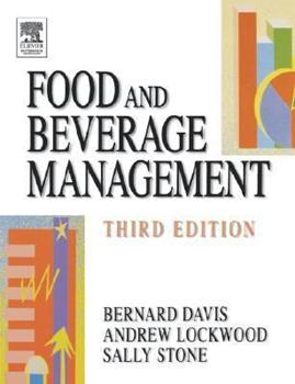 Food and Beverage Management 0750632860 Book Cover