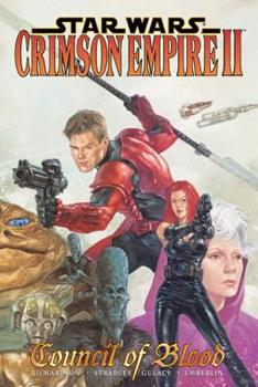 Star Wars: Crimson Empire Ii   Council Of Blood 156971410X Book Cover