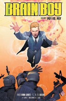 Brain Boy Volume 1: Psy vs. Psy - Book  of the Dark Horse Heroes