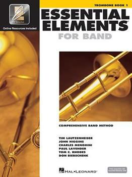 Essential Elements 2000, Book 1 Plus DVD: Trombone 0634003224 Book Cover