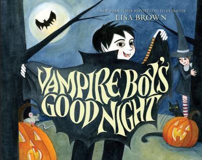 Vampire Boy's Good Night 0061140112 Book Cover