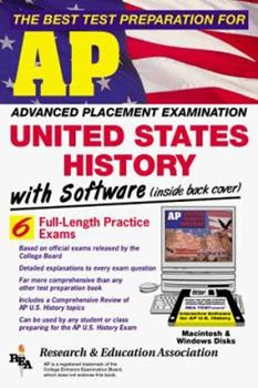 The Best Test Preparation for the Advanced Placement Examination: United States History (Advanced Placement (Ap) Test Series) 0878910980 Book Cover
