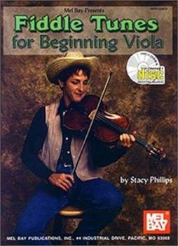 Fiddle Tunes For Beginning Viola Book/Cd Set 0786647728 Book Cover