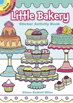 Paperback Little Bakery Sticker Activity Book