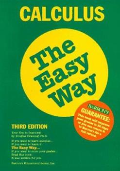 Paperback Calculus the Easy Way Book