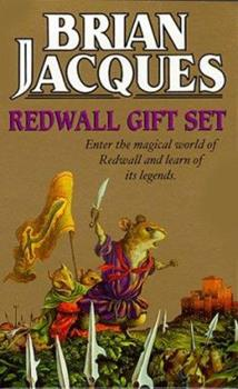 Redwall Gift Set: Outcast of Redwall; Mossflower; Martin the Warrior - Book  of the Redwall