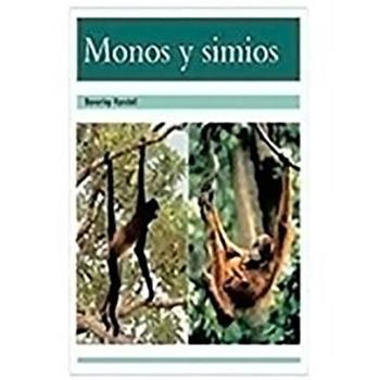Paperback Monos Y Simios (Monkeys and Apes): Individual Student Edition Turquesa (Turquoise) [Spanish] Book