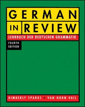German in Review 015529590X Book Cover