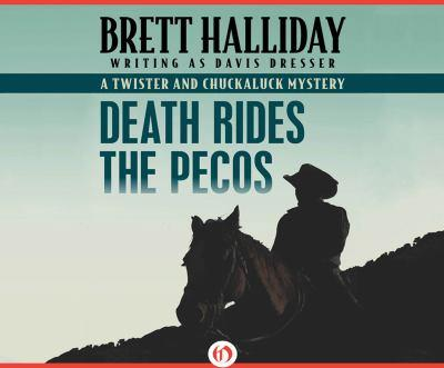 Death Rides The Pecos 1520034539 Book Cover