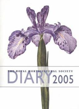 Hardcover The Royal Horticultural Society Diary 2005 Book
