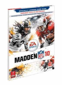 Paperback Madden NFL 10: Prima Official Game Guide (Prima Official Game Guides) Book