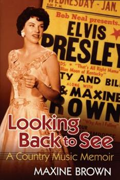 Paperback Looking Back to See: A Country Music Memoir Book