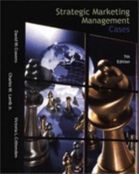 Strategic Marketing Management Cases (The Irwin Series in Marketing) 0256136890 Book Cover