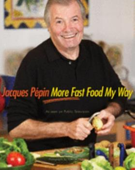 Hardcover Jacques P?pin More Fast Food My Way Book