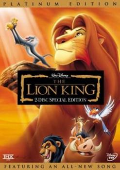 DVD The Lion King (Two-Disc Platinum Edition) Book
