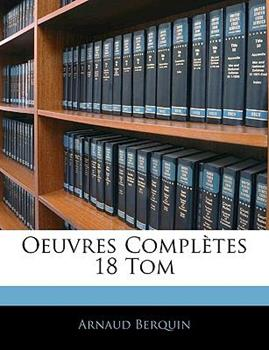 Paperback Oeuvres Compl?tes 18 Tom Book