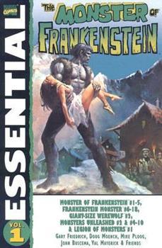 Essential Monster Of Frankenstein Volume 1 TPB - Book  of the Essential Marvel