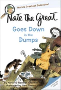 Nate the Great Goes Down in the Dumps 044040438X Book Cover