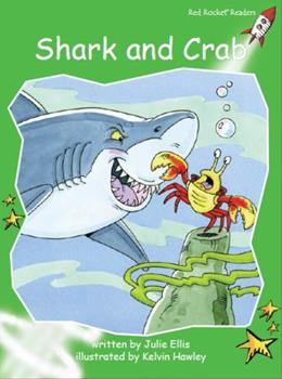Shark and Crab Big Book Edition 1877419702 Book Cover