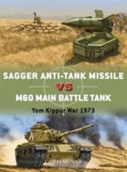 Sagger Anti-Tank Missile Vs M60 Main Battle Tank: Yom Kippur War 1973 - Book #84 of the Duel