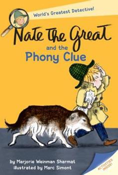 Nate the Great and the Phony Clue 0440463009 Book Cover