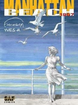 Hardcover Manhattan Beach 1957 Book