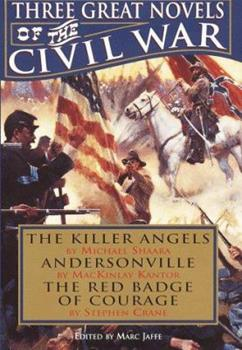 Three Great Novels of the Civil War 0517121964 Book Cover