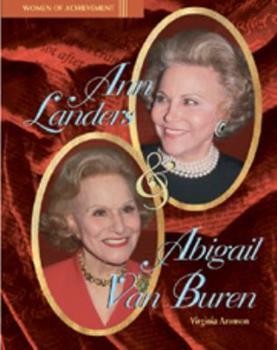 Ann Landers and Abigail Van Buren (Women of Achievement) 0791052974 Book Cover