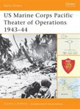 US Marine Corps Pacific Theater of Operations 1943–44 - Book #7 of the Osprey Battle Orders